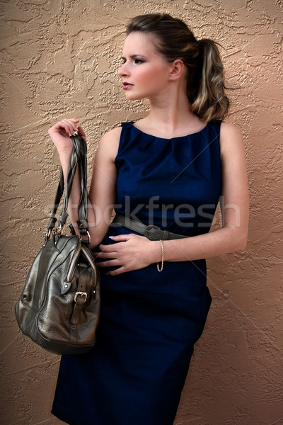 Woman With Handbag Stock photo © Stephanie_Zieber