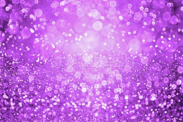Oscuro púrpura halloween fiesta resumen brillo Foto stock © Stephanie_Zieber