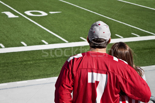American Football Fans  Stock photo © Stephanie_Zieber
