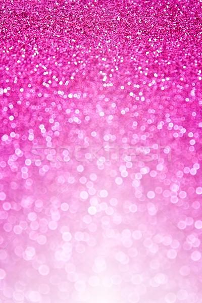 Pink Glitter Sparkle Background Stock photo © Stephanie_Zieber