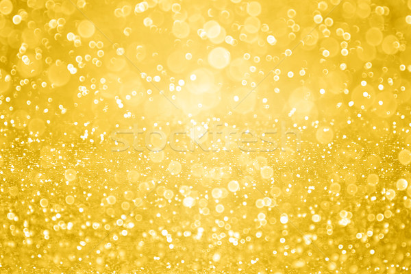 Gold Sparkle Glitter Background Party Invite Stock photo © Stephanie_Zieber