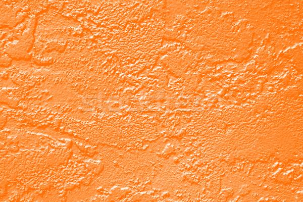 Orange Paint Wall Texture Stock photo © Stephanie_Zieber