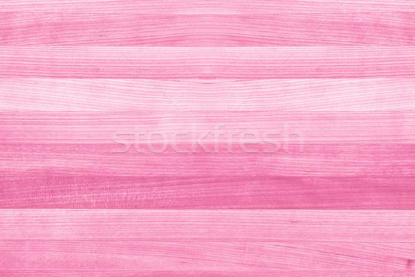 Stockfoto: Roze · houtstructuur · verf · meisje · voorjaar · partij