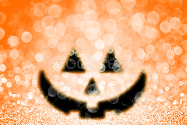 Halloween Pumpkin Jack O Lantern Party Invite Background Stock photo © Stephanie_Zieber