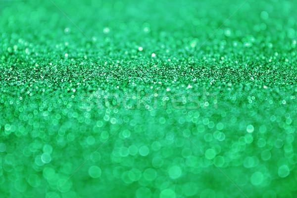 ストックフォト: 緑 · グリッター · ぼけ味 · 春 · 抽象的な · 背景