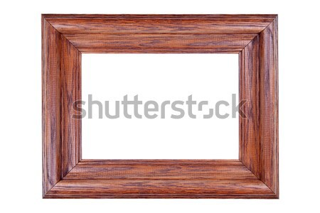 Wooden Picture Frame Stock photo © Stephanie_Zieber