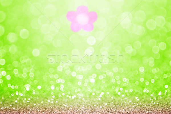 Spring Flower Sparkle Background Stock photo © Stephanie_Zieber