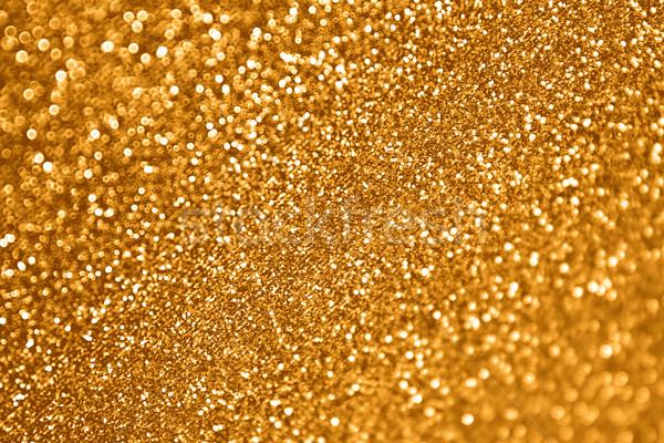 Stock photo: Gold Glitter