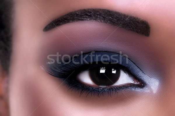 African Eye Makeup Stock photo © Stephanie_Zieber