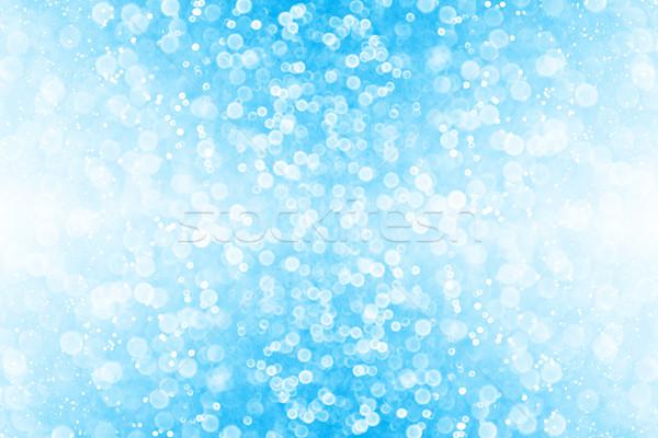 Blue Glitter Sparkle Background Stock photo © Stephanie_Zieber
