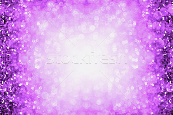 Purple Halloween Club or Birthday Party Invitation Background Stock photo © Stephanie_Zieber