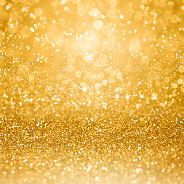 Stock photo: Gold Glam Golden Party Invitation Background