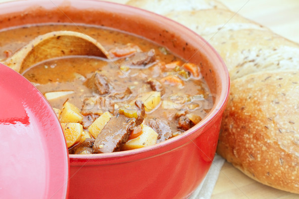 Stock photo: Fresh Venison Stew