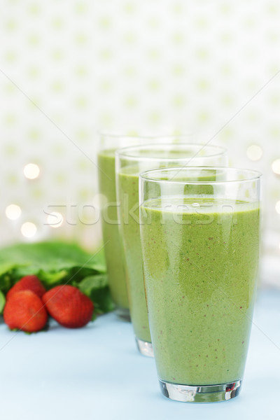 Spinach Smoothie Stock photo © StephanieFrey