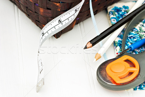 Quilting Supplies Stock photo © StephanieFrey