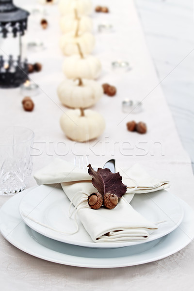 Stock photo: Festive Autumn Table