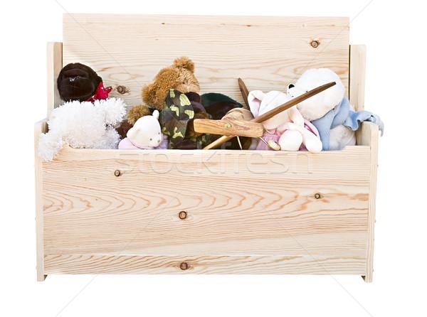 Stock fotó: Játék · doboz · játékok · különböző · általános · kéz