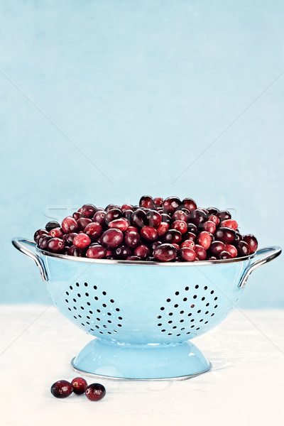 Fresh Cranberries Stock photo © StephanieFrey