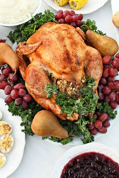 Thanksgiving Turkey Stock photo © StephanieFrey