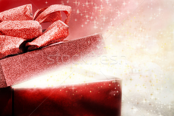 Magical Present Stock photo © StephanieFrey