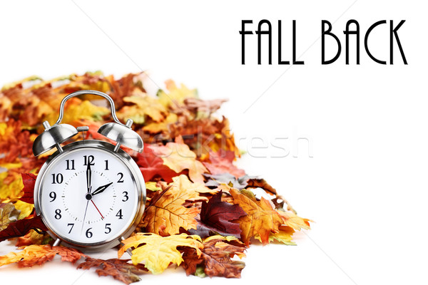 Time Change Daylight Savings with Text Stock photo © StephanieFrey