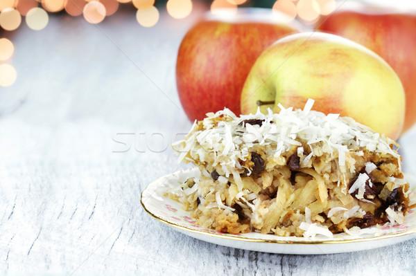 Apple Casserole Stock photo © StephanieFrey