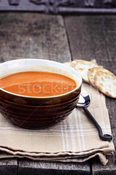 Tomato Bisque Stock photo © StephanieFrey