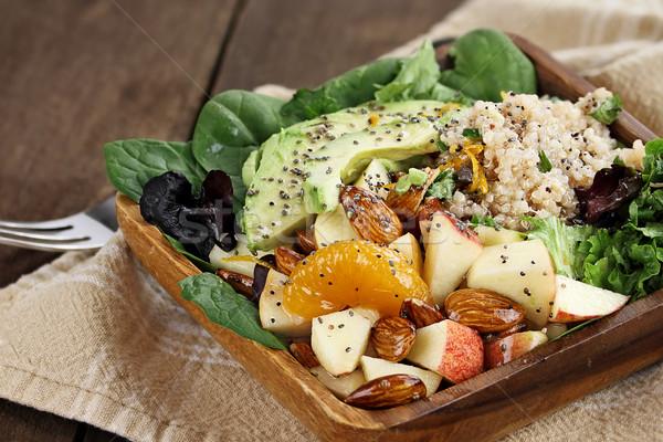 Quinoa and Fruit Salad Stock photo © StephanieFrey