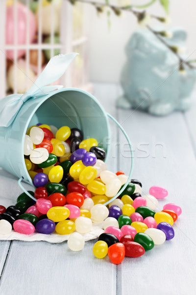 Colorful Jelly Beans Stock photo © StephanieFrey