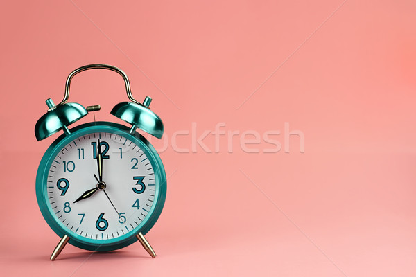 Retro Alarm Clock Stock photo © StephanieFrey