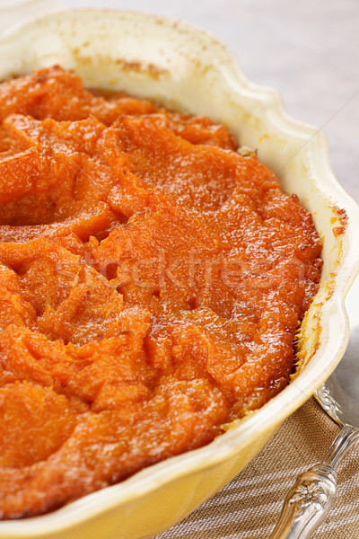 Sweet potato casserole Stock photo © StephanieFrey