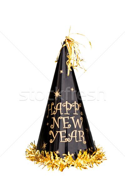 New Years Hat Stock photo © StephanieFrey