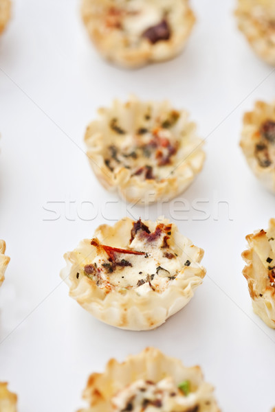 Savoury Tarts Stock photo © StephanieFrey