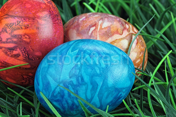 Colorful Easter Eggs Stock photo © StephanieFrey
