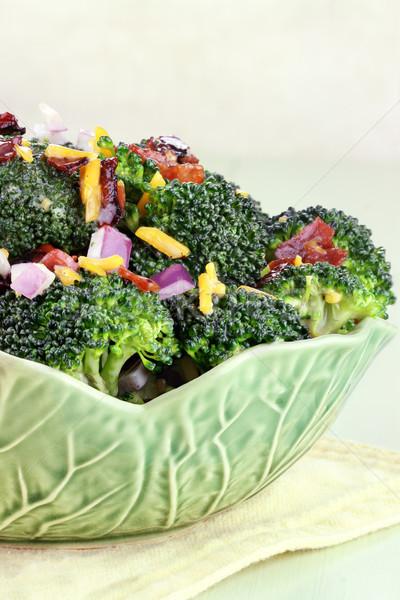 Broccoli Salad Stock photo © StephanieFrey
