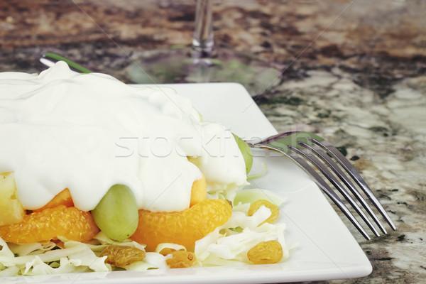 Fruit & Edam Salad Stock photo © StephanieFrey