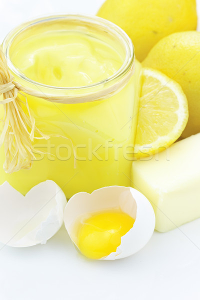 Ingredients for Lemon Curd Stock photo © StephanieFrey