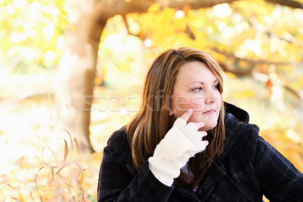 Woman Outdoors Stock photo © StephanieFrey