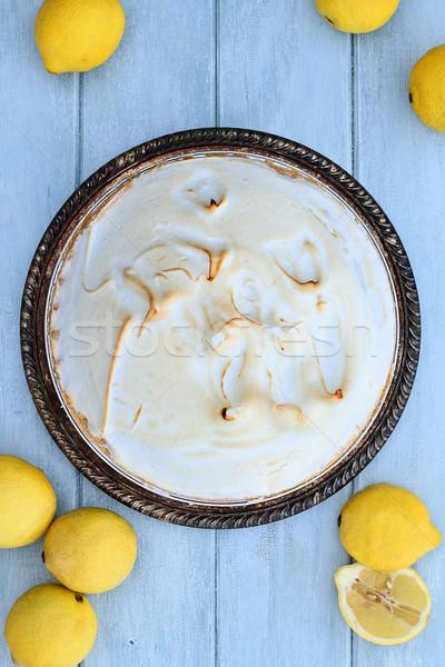 Lemon Meringue Pie Stock photo © StephanieFrey