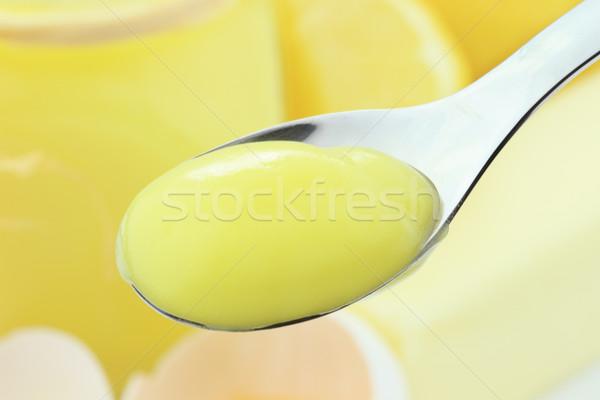 Lemon Pudding Stock photo © StephanieFrey