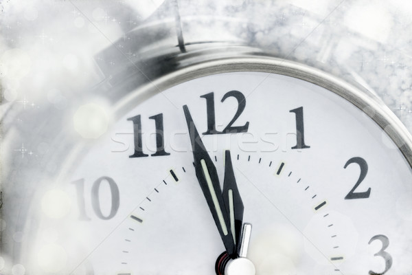 New Year Clock Stock photo © StephanieFrey