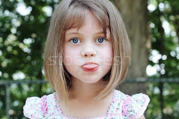 Silly Child Stock photo © StephanieFrey