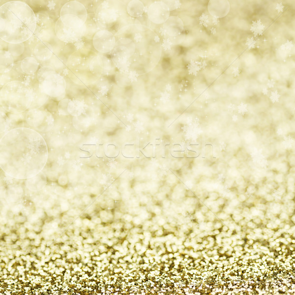 Sparkly Golden Background  Stock photo © StephanieFrey