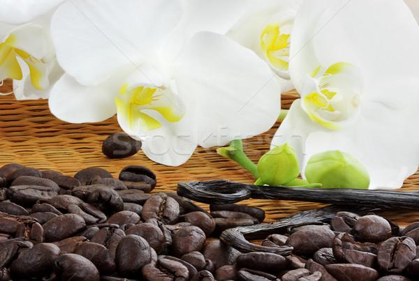 Gourmet Coffee Ingredients Stock photo © StephanieFrey