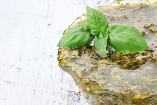 Traditional Pesto Sauce Stock photo © StephanieFrey