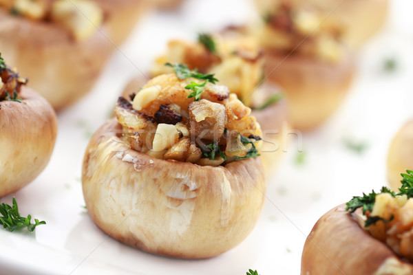 Stuffed Mushrooms Stock photo © StephanieFrey
