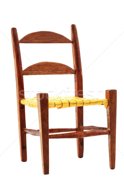Isolated Chair Stock photo © StephanieFrey