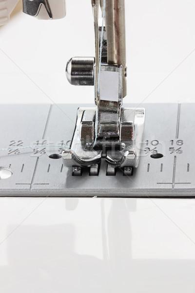 швейные машины иглы ногу мелкий фон Сток-фото © StephanieFrey