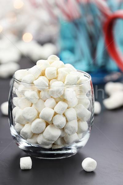 Mini Marshmallows Stock photo © StephanieFrey