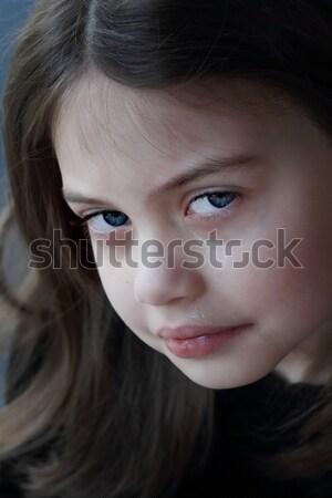 女の子 泣い 肖像 顔 子供 子 ストックフォト © StephanieFrey